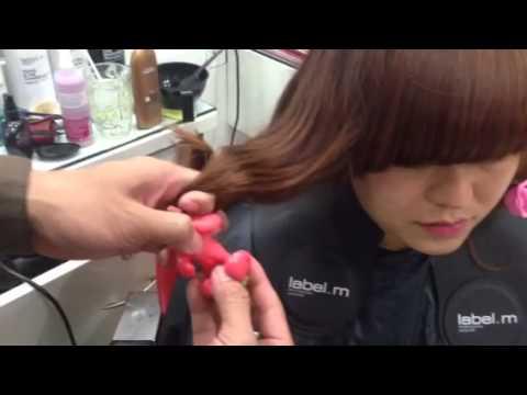 Hướng dẫn sử dụng chăm sóc tóc uốn, cuốn lô tại nhà