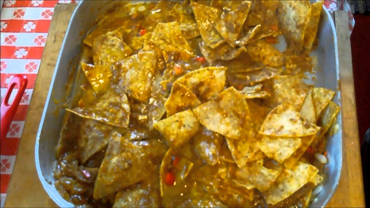 Making Chilaquiles - YouTube