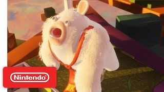 Mario + Rabbids Kingdom Battle - World 1 Battle & Boss Demonstration - Nintendo E3 2017