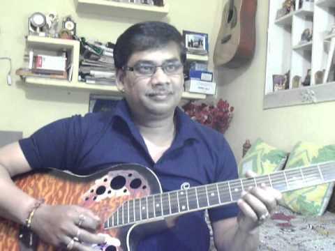 Yeh Jism hai to kya solo on Guitar