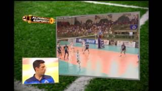 Alterosa Esporte recebe o l�bero Serginho, campe�o mineiro de v�lei pelo Cruzeiro
