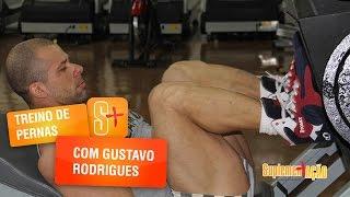 Treino de pernas com Gustavo Rodrigues