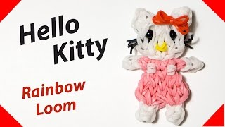 Hello kitty rainbow loom