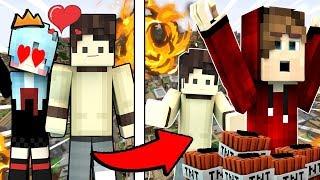 THỬ THÁCH Troll Oops GumBall bằng BẠN GÁI Của Nấm trong Minecraft