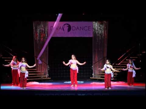 """Видео """"Детский отчетный концерт в Гигант-холле 02.06.2013 года"""". Детский восточный танец."""