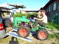 Auch Eine Transportmöglichkeit Eines Traktors
