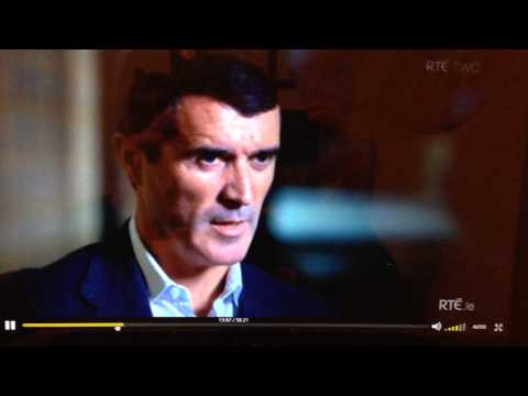 Roy Keane on getting praise from Alex Ferguson