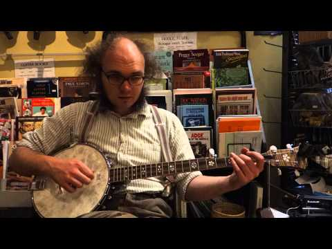 I Wish I Was A Mole In The Ground, Liam Kirby Banjo, Lesson 12 150513