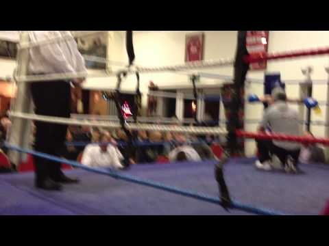 Kori Lewis Trostre Boxing Club NewCastle Emlyn 28 feb....