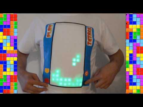 Play tetris on a Tshirt