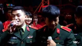Xuân Trường-Văn Thanh-Ba Chú Bộ Đội - Làm Người Yêu Anh Nhé Baby-Việt Nam Ơi Vô Địch Luôn Được Không