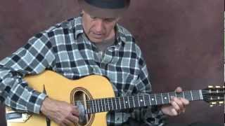 Learn how to play Gypsy jazz guitar Django inspired device using triads chords lesson