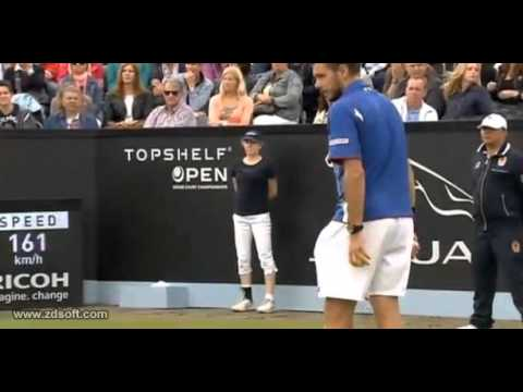 Wawrinka vs García López Semifinal Hertogenbosch 2013 Great points