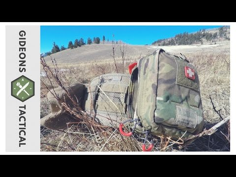 High Mobility First Aid Kit: Blackhawk! Quick-Release Medical Pouch