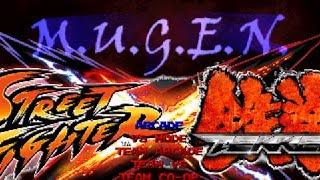 M.u.g.e.n Street Fighter Vs Tekken By Dragom [26-10-2013