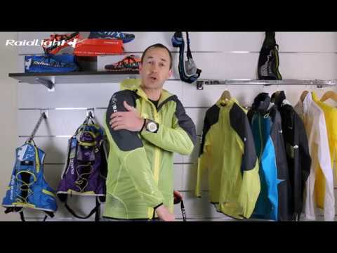 Raidlight Ultralight MP+ Mens Running Jacket Yellow