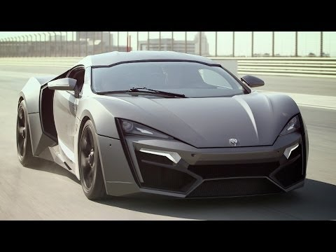 ► Lykan Hypersport - First Drive on Dubai Autodrome