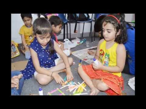 Art & craft Activity  - summer camp- swastik dance rishikesh