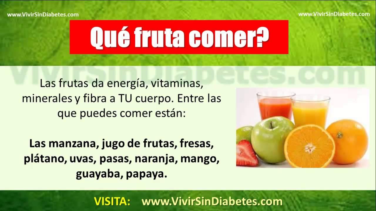 Que Frutas Debe Comer Un Diabetico? Aquí REVELO Las Frutas
