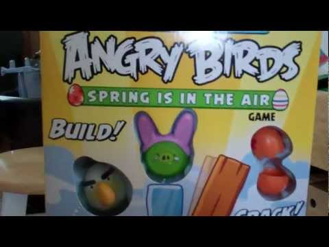 Angry Birds Spring Is In The Air Game, 