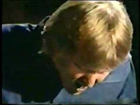 4. A little looser on the Smothers Brothers' Poets Corner in 1971.