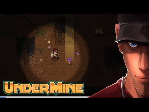 UnderMine I got a mushroom! I got Lillyth! I also got bombs!  - Part 5 | Let's Play UnderMine