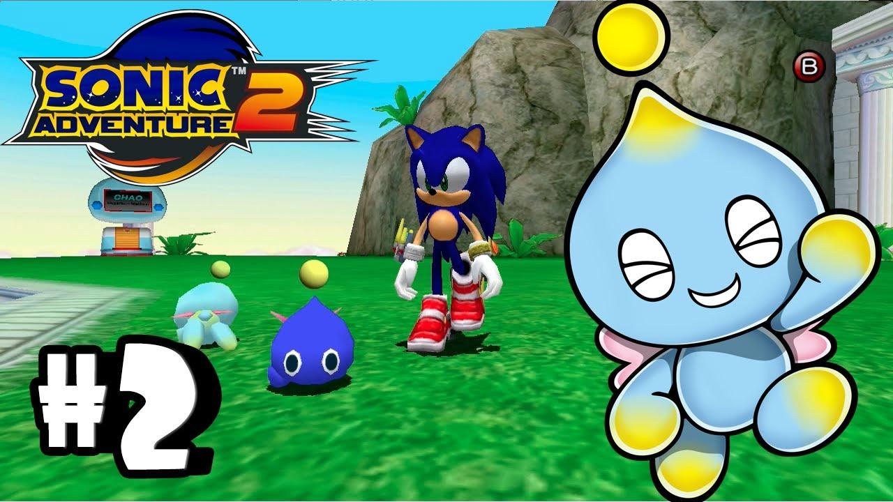Sonic Adventure 2 Battle Chao Garden Episode 2 Youtube