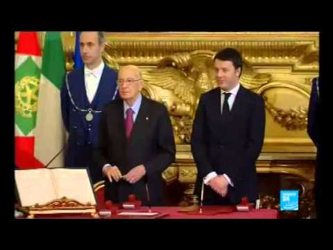 Italy's Matteo Renzi sworn in as Prime Minister