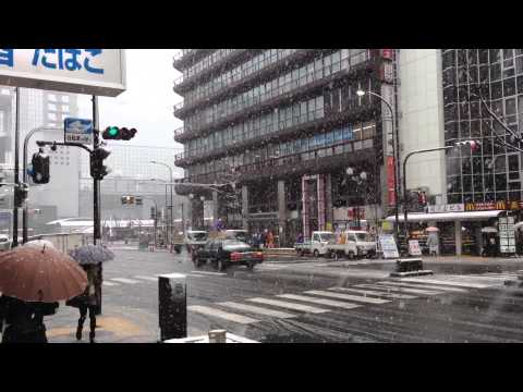 京都・大雪 Heavy Snowfall In Kyoto 2014