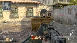 Call of Duty Black Ops 2 WiiU Gameplay/Commentary - TDM on Slums