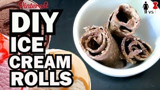 DIY Ice Cream Rolls, Corinne VS Pin #34