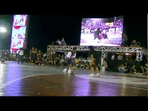 LA Lights Streetball 2012 - Hot Sauce Performance at Open Run Yogyakarta 2012