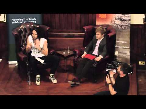 Russell Brand at the Cambridge Union