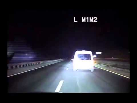 Dash cam captures wrong-way NM pursuit, shooting