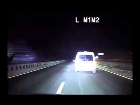 Dash cam captures wrong-way NM pursuit, shooting