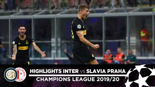 INTER 1-1 SLAVIA PRAHA | HIGHLIGHTS | Matchday 01 - UEFA Champions League 2019/20