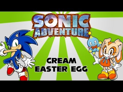 Sonic Adventure Easter Eggs Sonic Adventure Cream Easter