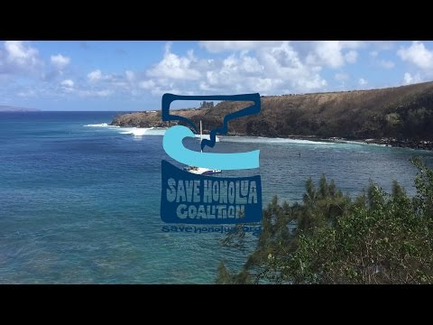 Save Honolua Coalition Earth Day 2016