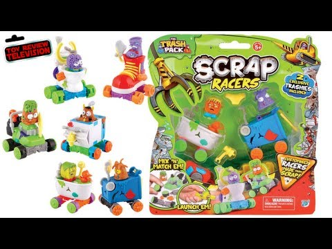 The Trash Pack Scrap Racers Twin Pack Toy Review