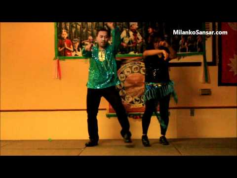 "Simple Simple Kanchi ko Dimple Parne Gala,  ""New Nepali Movie Song"" ""Andaz"" Nepali Best Dance"