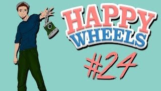 Happy Wheels - Part 24 | I'M ON THE FRONT PAGE AGAIN!!