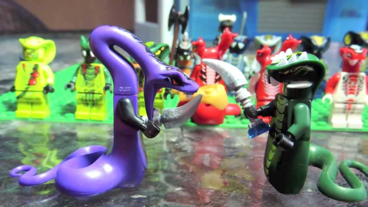 My lego ninjago serpentine collection review youtube - Serpent lego ninjago ...