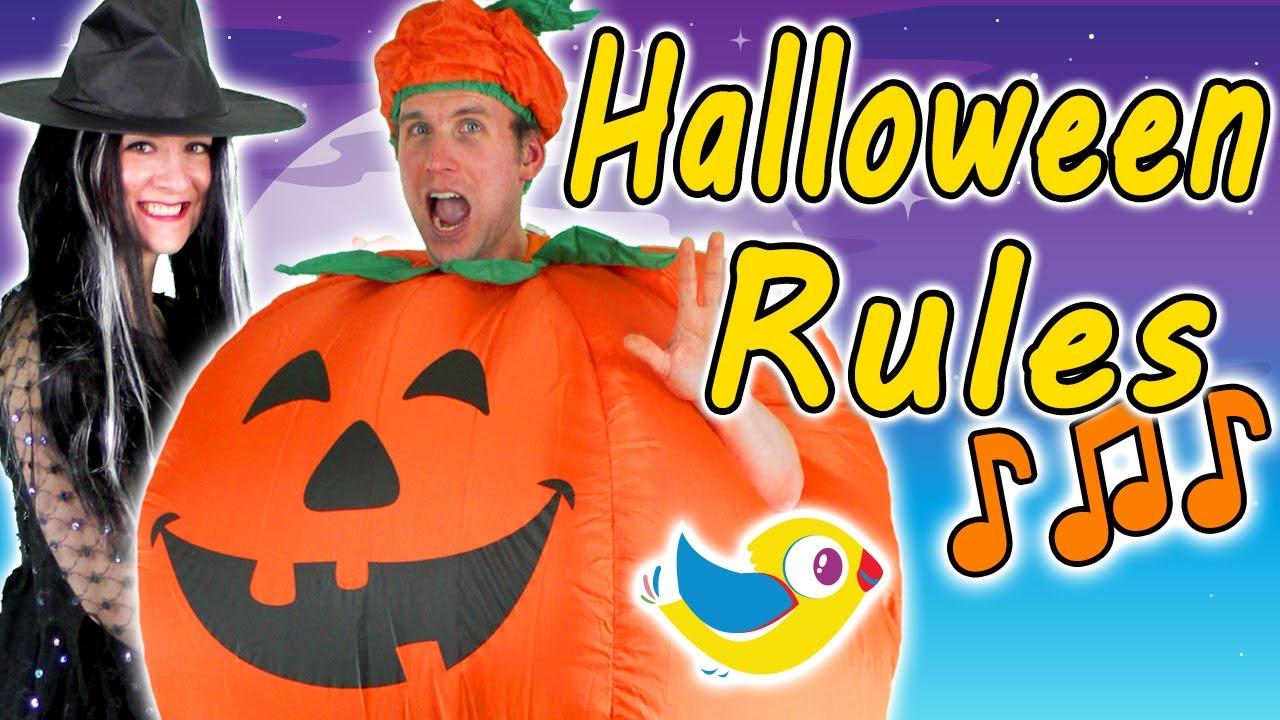 Halloween Rules Youtube