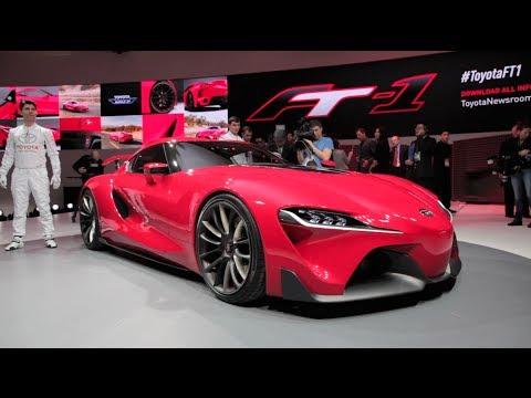 Toyota FT-1 Concept - 2014 Detroit Auto Show