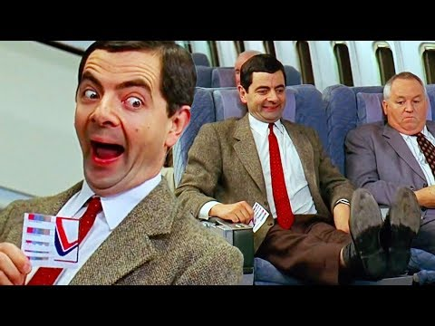 AIRPLANE Bean | Bean Movie | Funny Clips | Mr Bean Official