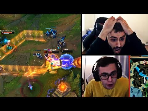 WHEN YASSUO OPENS SOMETHING ON STREAM THAT HE SHOULDN'T HAVE | TARZANED'S INSANE MECHANICS | LOL