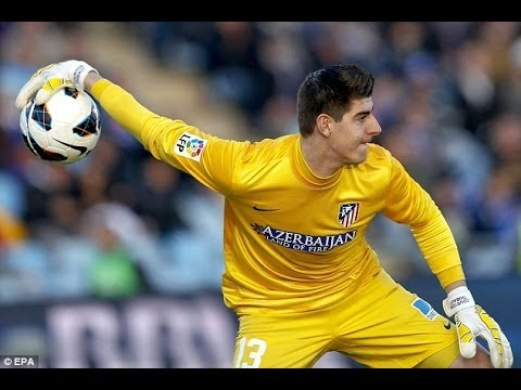 Thibaut Courtois - Top 10 Saves ● 2014 HD