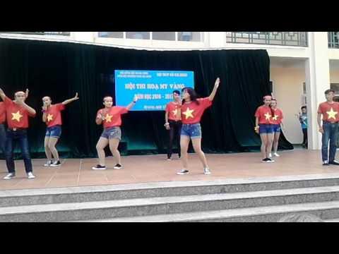 Nhảy dân vũ la la la world cup đẹp nhất. THCS Hạ Long