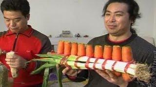 WOW.. Alat Musik Dari Sayur-sayuran
