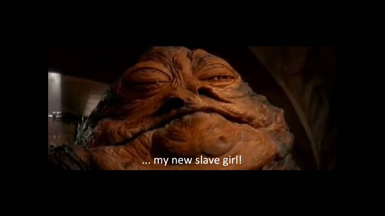Princess Leia is taken as Jabba's slave - YouTube Jabba The Hutt And Leia Fanfiction